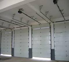 درب اتوماتیک سکشنال زیر سقفی