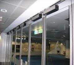- درب شیشه ای اتومات کاباkaba