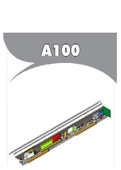 راهنمای نصب و تعمیر اپراتور درب A100